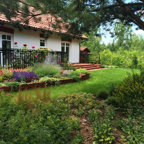 Ogród prywatny w Starej Wsi