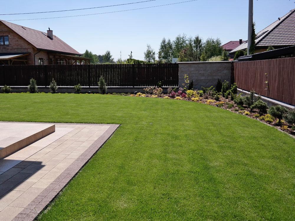 Ogród prywatny w Lipkowie