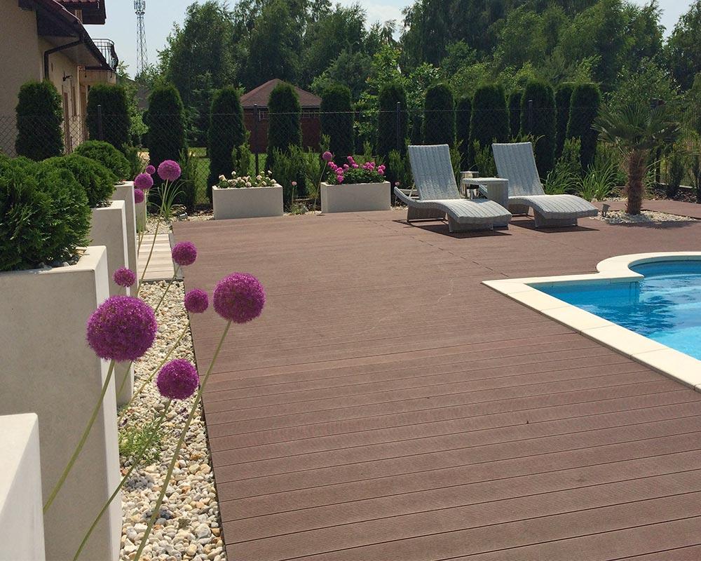 Ogród prywatny w Urzucie