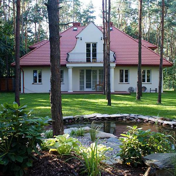 Prywatny ogród w Owczarni