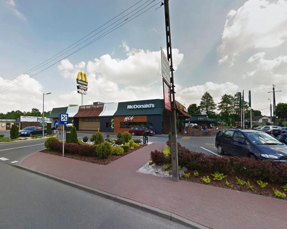 McDonald'd Grodzisk Mazowiecki - Google maps