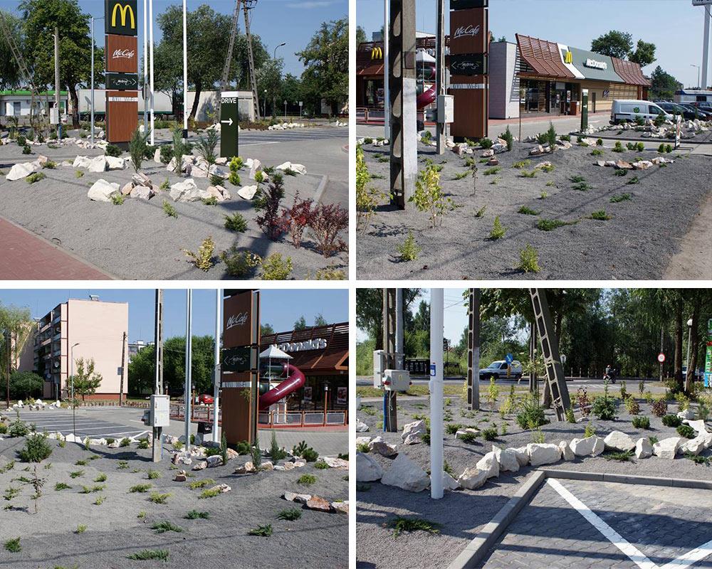 McDonald'd Grodzisk Mazowiecki - prace