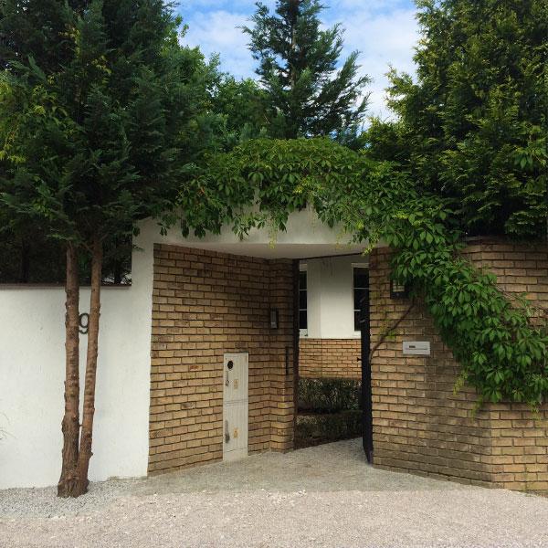 Prywatny ogród dwupoziomowy
