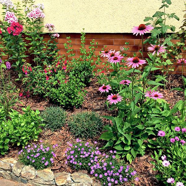 Ogród prywatny Wiosenna